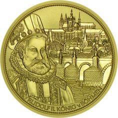 100 Euro Gold Die Wenzelskrone Böhmens PP