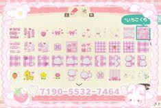 Animal Crossing Guide, Animal Crossing Villagers, Pink Animals, Cute Animals, Pink Island, Path Design, Motifs Animal, Cute Games, Kawaii