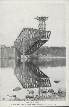 Pont de Québec (2) | Le Québec, une histoire de famille Quebec Montreal, Old Quebec, Montreal Ville, Quebec City, Chute Montmorency, Samuel De Champlain, Chateau Frontenac, Capital Of Canada, Modern Skyscrapers