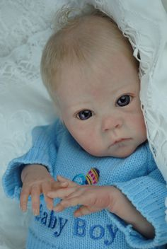 Ashton- reborn from a Saoirse sculpt by Bonnie Brown, now living Australia with his siblings