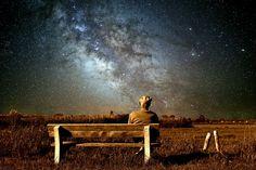 Oude Man, Landschap, Milky Way, Natuur, Hemel, Buiten