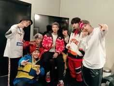 BTS at Jimmy Kimmel live show