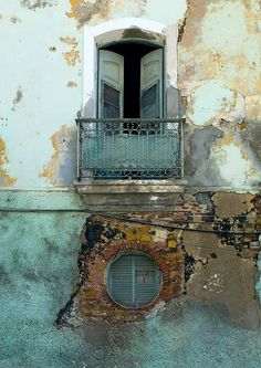 Old colonial house in Luanda - Angola by Eric Lafforgue