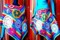 Crochet Poncho or Skirt