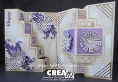 Marianne maakte een leuke combinatie van twee Create a Card stansen:  https://www.crealies.nl/detail/2009424/18-02-03-marianne.htm  http://crealies.blogspot.nl/2018/02/happy-bday.html    Crealies stans / die:  Downloads Create A Card 10 Download 3  Crealies Create A Card no. 10  Crealies Create A Card no. 18  Alfies no. 1  Text Die no. 102  Set of 3 no. 47  Duo Dies no. 31  Duo Dies no. 31A  Duo Dies no. 47  Inside or Out no. 8    Crealies stempel / stamp:  Bits & Pieces no. 88