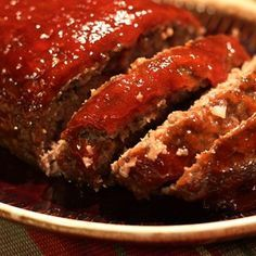 "Brown Sugar Meatloaf I ""This meatloaf is excellent! My entire family loved it!"""