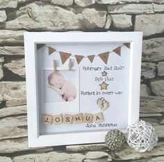 New Baby Gift Present For New Baby Baby Birth by Mybuttonheart