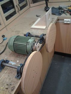 Building The Double Disc Sander