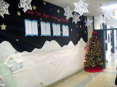 Christmas Hallway Display