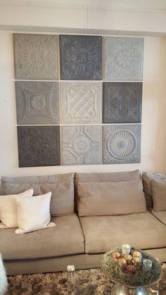 Home - Artivue Rental Home Decor, Wall Design, House Design, Ceramic Wall Art, Interior Decorating, Interior Design, Concrete Design, Moroccan Decor, Cozy House