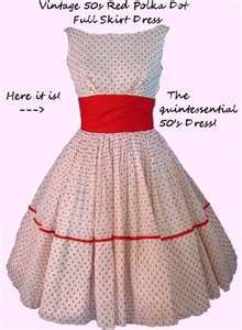 50's fashion. I love fashion from this time period!