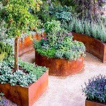 Beautiful diy raised garden beds ideas 51