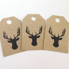 Image result for deer head tags