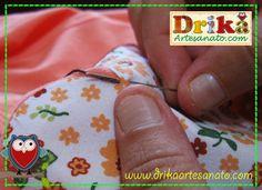 Passo a passo de Como fazer blusinha decorada com patch aplique 2ª parte | Drika Artesanato - O seu Blog de Artesanato.