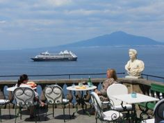 A relaxing day in Sorrento, Italy with Azamara Club Cruises.