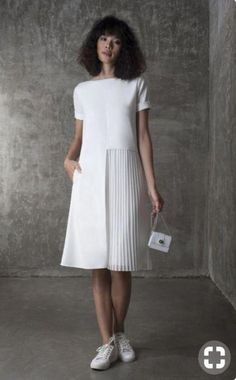 Super skirt pleated white classy ideas skirt 2019 ofis kl in siyah pantolon beyaz tirt yavruaz uzun ceket Dresses Elegant, Pretty Dresses, Sexy Dresses, Casual Dresses, Short Dresses, Fashion Dresses, Dresses For Work, Summer Dresses, Formal Dresses