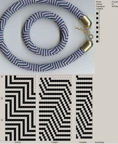 stripe beaded crochet bracelet 14 around Bead Crochet Patterns, Bead Crochet Rope, Crochet Bracelet, Beading Patterns, Bracelet Patterns, Beaded Crochet, Beading Tutorials, Bead Jewellery, Seed Bead Jewelry