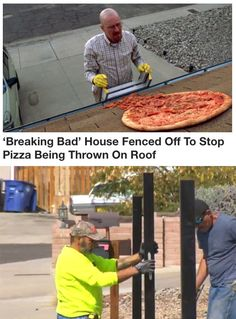 They are done with your pizza-tossing bullshit!