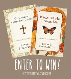 Elyse Fitzpatrick's books: Comforts from the Cross and Because He Loves Me. There's no fluff here, just wonderful insight on how the Gospel impacts our everyday lives.
