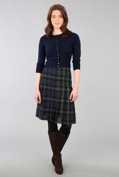 Cashmere Cropped Cardigan - Women's Cardigans | Brora