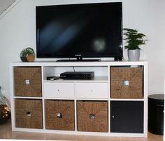 IKEA Kallax TV unit with drawers