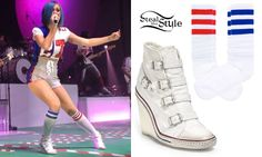 Katy Perry Super Bowl shoes