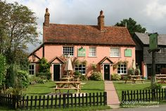 The Cock Inn, Polstead, Suffolk by Beautiful England Great Places, Places To See, Beautiful Places, Suffolk Coast, Suffolk England, Uk Tourism, English Country Cottages, British Pub, London England