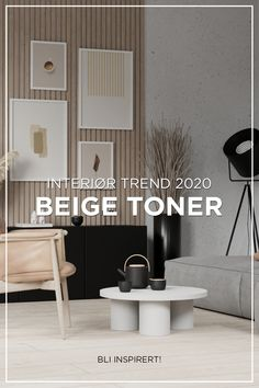 After a long time with grey as a dominating color for interior, it's now time for warmer, softer hues! Beige will be one of the key trends in Long Hallway, Common Area, Fashion Room, Home Look, Wall Colors, Small Living, Warm And Cozy, Interior Inspiration, Living Room Designs