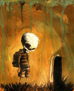 Skully Boy by Skottie Young *