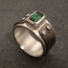 Mind the Gap ring w/ tourmaline | Flickr - Photo Sharing!