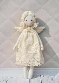 bambola di pezza Textilе Tilda bambola angelo