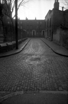 East End Afternoons by Tony Hall, courtesy of Spitalfields Life...haunting.