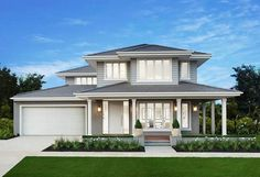 New Home Builders Melbourne & Victoria Die Hamptons, Hamptons Style Homes, Home Builders Melbourne, New Home Builders, Design Exterior, Facade Design, Exterior Colors, Boutique Homes, A Boutique