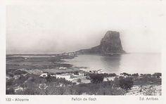 Penyal d'Ifac. Calp, la Marina Alta. Anys 40-50