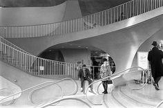 TWA Terminal at JFK, 1969 by Nick DeWolf