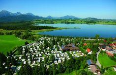 Hopfensee ostallgäu camping am see in deutschland