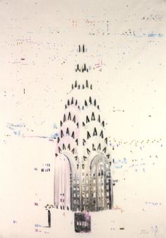 Chrysler Building, the way it was drawn.