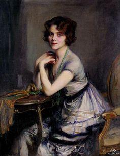 Portrait of a Lady by Philip Alexius de Laszlo
