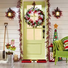 Front Porch Christmas Decorating Ideas 2014 | ... Cool DIY Decorating Ideas For Christmas Front Porch | Family Holiday