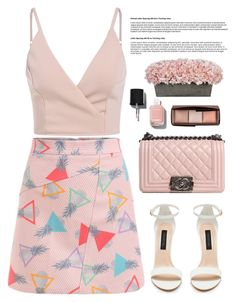 """""""03.06.2016"""" by bliznec-anna ❤ liked on Polyvore featuring Chanel, Hourglass Cosmetics, polyvoreeditorial and polyvorefashion"""