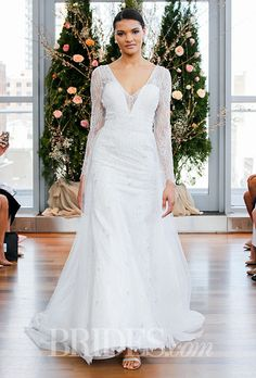 Brides.com: . Wedding dress by Isabelle Armstrong