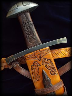 """""""Come away, oh, human child""""  The name of this sword, Hrafn, is old norse for """"Raven"""".  Fableblades"""