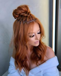 Shaggy Blonde Waves - 40 Picture-Perfect Hairstyles for Long Thin Hair - The Trending Hairstyle Long Thin Hair, Short Hair With Layers, Long Red Hair, Homecoming Hairstyles, Red Hair Color, Ginger Hair, Prom Hair, Hair Wedding, Hair Looks