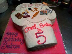 Chef hat cake