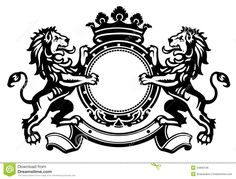 Lion Crest 1 - Download From Over 36 Million High Quality Stock Photos, Images, Vectors. Sign up for FREE today. Image: 24850136