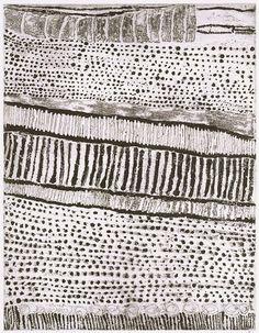 Quilting inspiration: Kutuwulumi Purawarrumpatu (Australian, born ca. died in Untitled, lift-ground etching, aquatint, black ink on ivory wove paper Textile Patterns, Textile Art, Textiles, Style Patterns, Grafik Art, Kunst Der Aborigines, 3d Foto, Aboriginal Painting, Australian Art