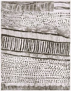 Kutuwulumi Purawarrumpatu (Australian, born ca. 1928, died in 2003), Untitled, 1999, lift-ground etching, aquatint, black ink on ivory wove paper