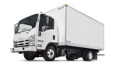 Isuzu NPR EcoMax with Dry Freight LDX Truck Body | Morgan Corporation
