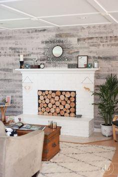 Stikwood Living Room Makeover