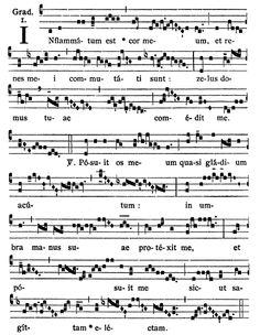 Gregorianischer Choral: S. Joannis Leonardi - Grad:Inflammatum est